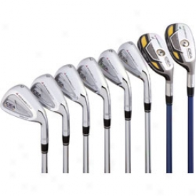 Adams Pre-owned Idea Pro Gold Iron Set 3-pw In the opinion of Project X Steel Shafts