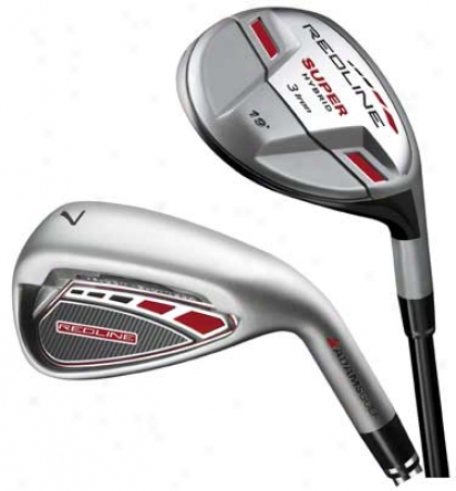 Adams Redline 3h, 4-pw Comno Iron Set Wtih Steel Shafts