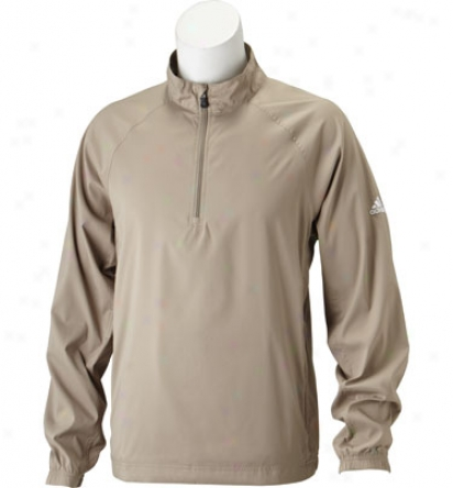 Adidas Mens Climaproof Half Zip Windshirt