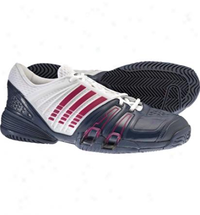 Adidas Tennis Mens Climacool Genius Ii Tennis Shoes (blue/white/pink)