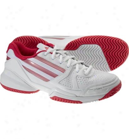 Adidas Tennis Womens Adizero Ace - White/pink Tennis Shoos