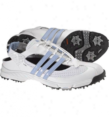 Adidas Womens Cc Slingback 2.0 - White/x/white Golf Shoes