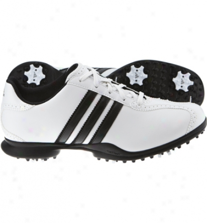 Adidas Womens Driver Mat S - White/black/white Golf Shoes