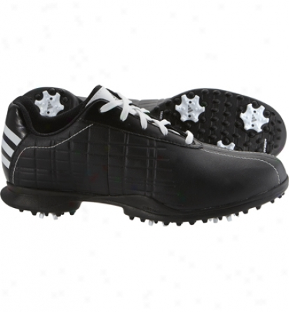 Adidas Womens Driver May Z - Black/white/black Golf Shoes