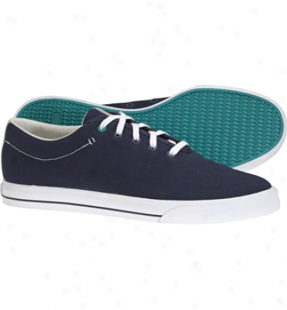 Ashworth Mens Ash Std. Issue - Navy/white Casual Shoes