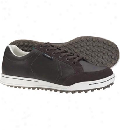 Ashworth Mens Cardiff - hCocolate/white Golf Shoes