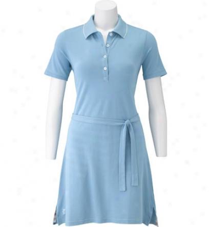 Ashworth Womens Cotton Ez Tech Pique Skort Dress