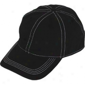 Assorted Logo Contrast Stitch Washed Twill Cap
