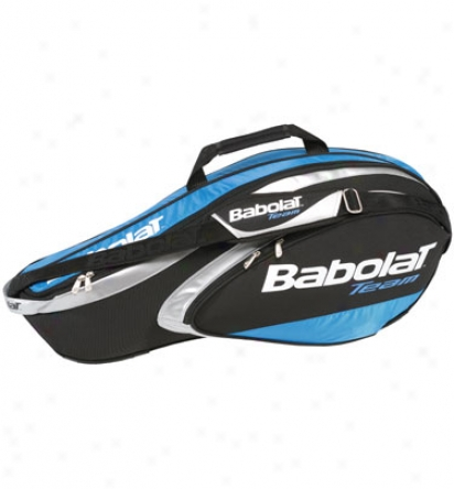 Babolat Team Line 3 Racquet Holder (blue/black)