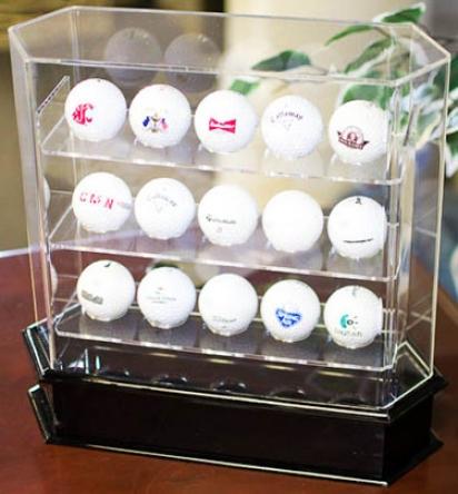 Upper part 9 Originals Acrylic 15 Golf Ball Display