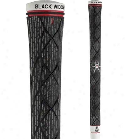 Black Widow Torque Round Standard Grip (black With White Cord)