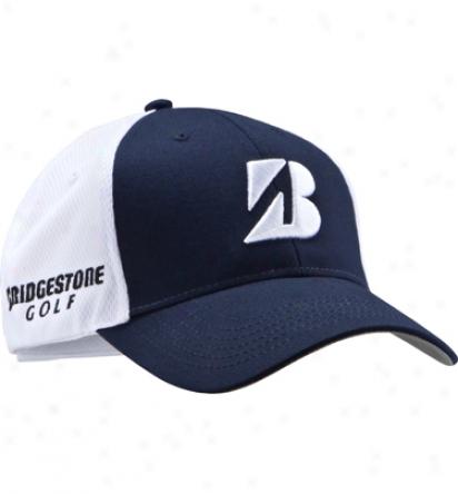 Bridgestone Mens Bsg Polymesh Hat