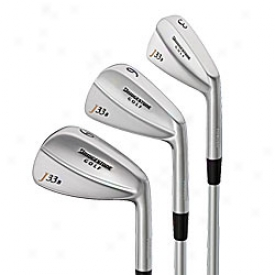 Bridgestone Pre-owned J33b Forged Blade Iron Set 3-pw With Steel Shafts