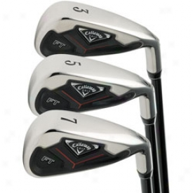 Callaway Ft Iron Set 3-pw With Npipon Steel Shafts