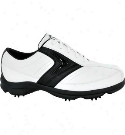 Callaway Mens C-tech Saddle - White/black Golf Shoes