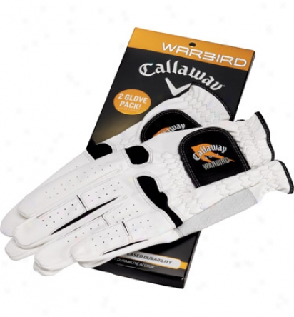 Callaway Mens Cadet Warbird Glove 2-pack