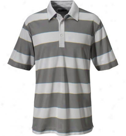 Callaway Mens Rugby Striped Polo