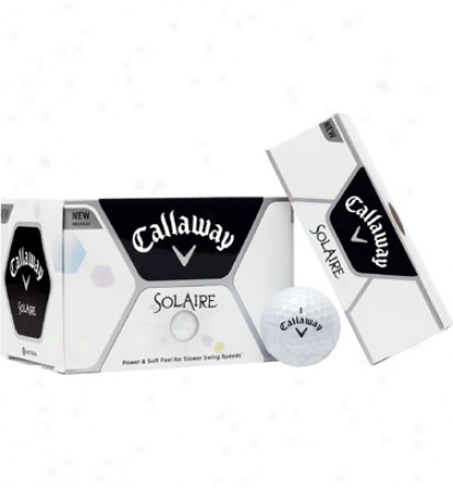 Callaway Personalized Linerite Solaire Golf Balls (white)