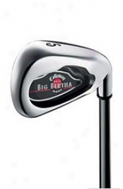 Callaway Pre-owned Big Bertha 2004 Iron Set 4-10, W With Graphiet Shafts