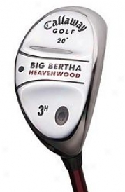 Callaway Pre-ownsd Big Bertha Heavenwood In the opinion of Graphite Shaft