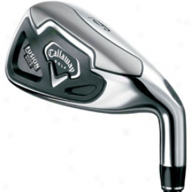Callaway Pre-owned Fusion Wide Sole Iron Sett 3-pw With Graphite Shafts