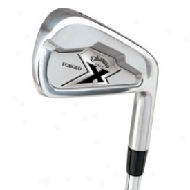 Callaway Pre-owned X Forged Iron Set 3-pw With Steel Shafts