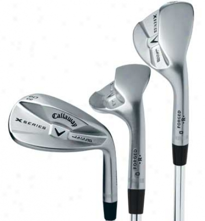 Callaway Pre-owned X-series Jaws Cc Chrome Wedges