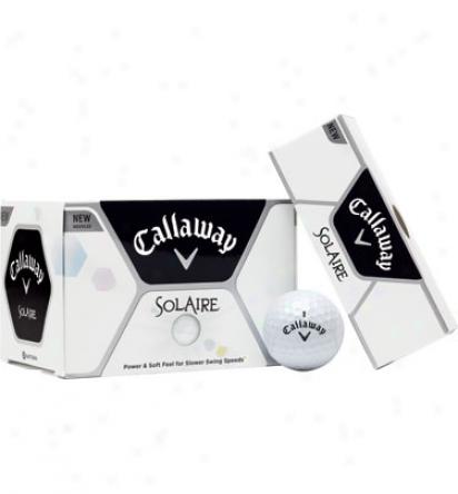 Callaway Solaire Logo Golf Balls (white)