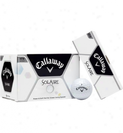Callaaay Solaire Personalized Golf Balls (white)