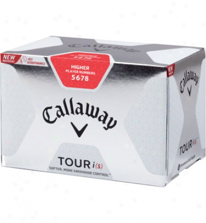 Callaway Tour I(s) High Number Logo Golf Balls