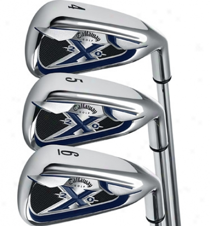 Callaway X-20 Iron Set 4-sw With Steel Shafts