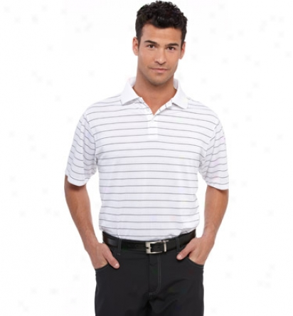 Calvin Klein Mens Twoo Color Stripe Polo
