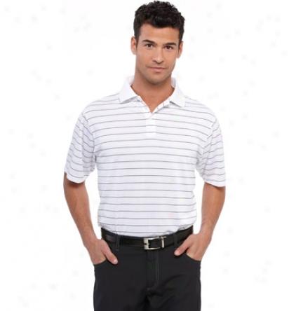 Calvin Klein Mens Twoo Color Stripe Polo