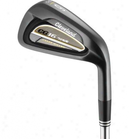 Cleveland Cg16 Tour Black Pearl Individual Iron With Steel Shaft