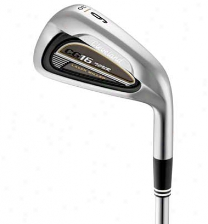 Cleveland Cg16 Journey Satin Chrome Iron Set 3-pw With Steel Shafts