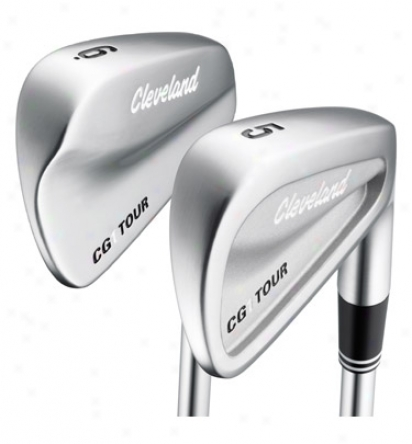 Cleveland Pre-owned Cg 1 Tour Iron Set 3-pw With Steel Shafts