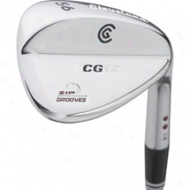 Cleveland Pre-owned Cg12 Wedge With Chrome Finish