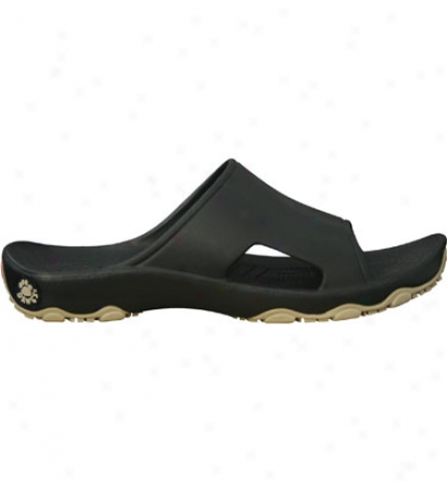Dawgs Premium Mens Destination Slide - Black/tan Casual Shoe