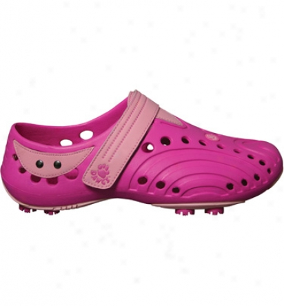 Dawgs Womens Golf Spirit New Colors - Hot Pink/soft Pink Casual Shoes