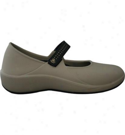 Dawgs Womens Mary Jane Proo - Tan/black Casual Shoes