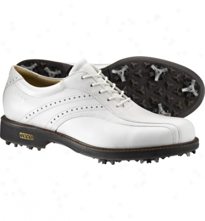 Ecco Mens Comfot Greek  Hydromax Golf Shoes (white)