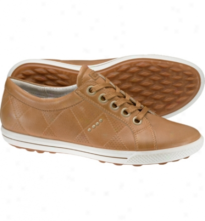Ecco Womens Golf Street Premier Golf Shoes (earth Brown/honey)