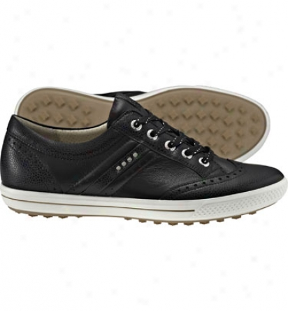 Ecco Womens Golf Street Wing Tip - Golf Shoes