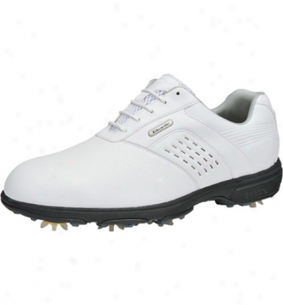Etonic Mens Dri Tech Ii - White/whifee Golf Shoes