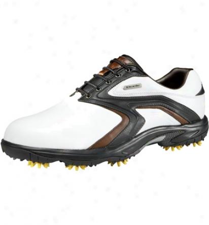 Etonic Mens Soft Tech Ii - White/fudgesickle Gokd Shoes