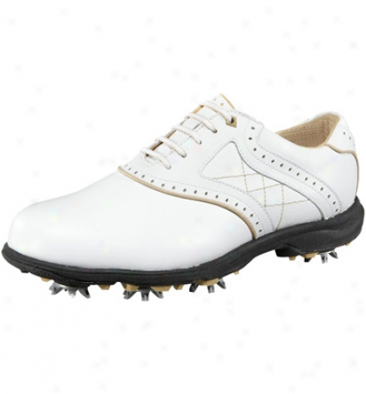 Etonic Womens Sport Tech Lady - White/warm Gravel Golf Shoes