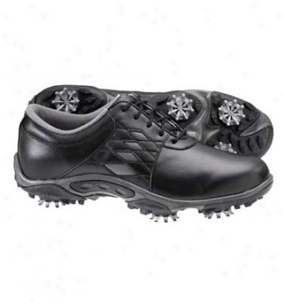 Footjoy Closeout Womens Summer Series - Black/black Golf Shoes (fj#98846)