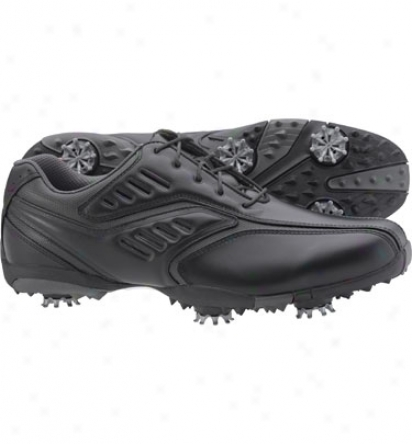 Footjoy Mens Fj Stdeet Golf Shoes - Black (fj#56485)