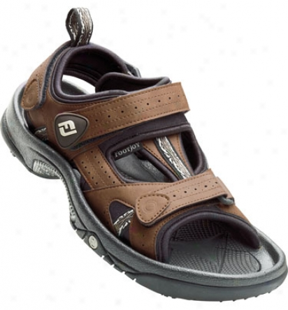 Footjoy Mes Greenjoys Golf Sandals (brown) - Fj# 45493