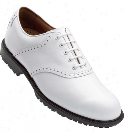 Footjoy Mens Professional Spikeless Casual Shoes (white) - Fj# 57094